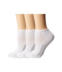 Smartwool Walk Light Micro 3 Pack White Low Cut Socks Shoes
