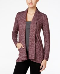 Styleandco. Style Co. Draped Cardigan Only At Macy's Dried Plum