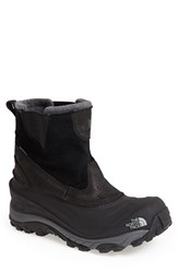 The North Face Men's 'Chilkat Ii' Waterproof Snow Boot Tnf Black Tnf Black