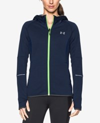 Under Armour Storm Swacket Hooded Zip Jacket Midnight Navy