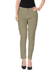 Mih Jeans Trousers Casual Trousers Women Military Green