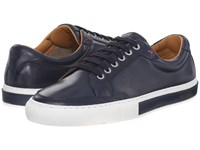 Sebago Robinson Lace Up Navy Leather Men's Lace Up Casual Shoes Blue