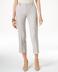 Tommy Hilfiger Cropped Straight Leg Pants Nomad