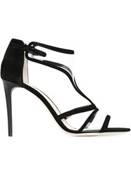 Giorgio Armani Stiletto Heel Sandals Black