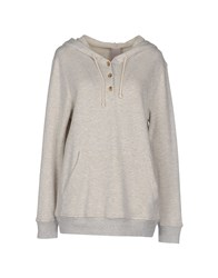 People Topwear Sweatshirts Women Light Grey