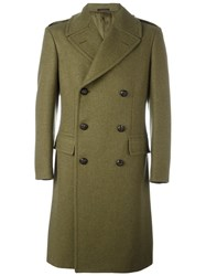The Gigi Double Breasted Coat Green