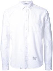 Bedwin And The Heartbreakers Chest Pocket Shirt White