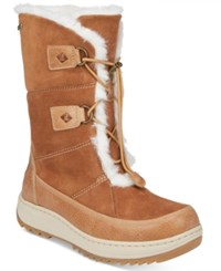 Sperry Powder Valley Winter Boots Women's Shoes Brown