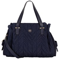 Nica Ava Medium Grab Bag Denim Quilt