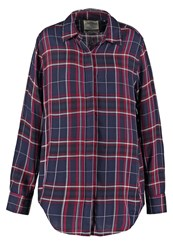 Superdry Overall Shirt Alaska Ruby Bordeaux