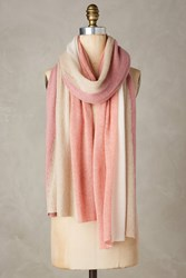 Anthropologie Shimmered Cashmere Infinity Scarf Pink