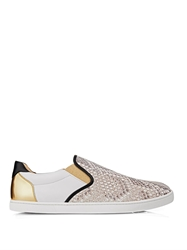Christian Louboutin Sailor Python And Leather Skate Shoes