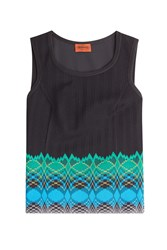 Missoni Knit Tank Black