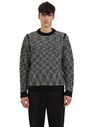 Acne Studios Kaapo Looped Knit Sweater Black