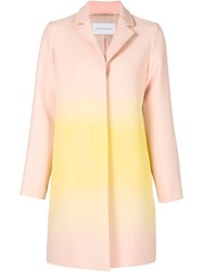 Jonathan Saunders Gradient Coat Pink And Purple