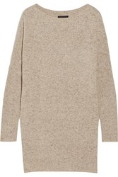 Hatch The Agyness Wool Blend Sweater Dress Cream