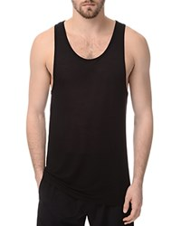 Atm Anthony Thomas Melillo Atm Modal Slim Fit Tank Top Black