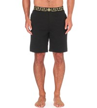 Versace Iconic Jersey Shorts Black