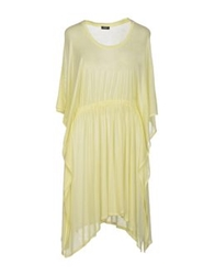 Michalsky Knee Length Dresses Yellow