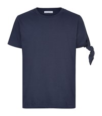 J.W.Anderson Tie Arm T Shirt Male Navy