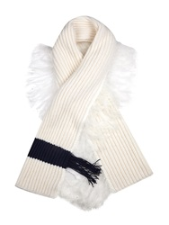 J.W.Anderson Chunky Knitted Fringed Scarf