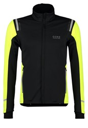 Gore Running Wear Mythos 2.0 Sports Jacket Black Neon Yellow