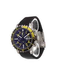 Fortis 'B 42 Marine Chronograph' Analog Watch Stainless Steel