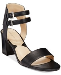 Adrienne Vittadini Palti Sandals Women's Shoes Black