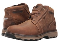 Caterpillar Parker Esd Dark Beige Men's Work Lace Up Boots Brown