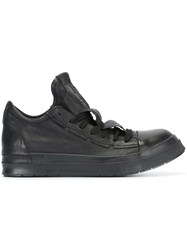 Cinzia Araia Elongated Detailed Tongue Sneakers Black