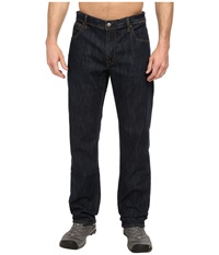 Marmot Pipeline Denim Jean Relaxed Fit Dark Indigo Men's Jeans Blue