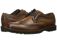 Dockers Benfield British Tan Burnished Full Grain Men's Lace Up Casual Shoes Red