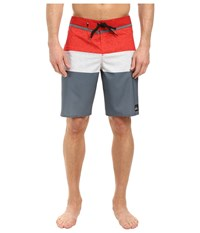 Quiksilver Everyday Blocked Vee 20 Boardshorts Stormy Weather Men's Swimwear Clear