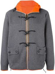 Bark Duffle Jacket Grey