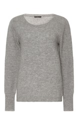 James Perse Cashmere Pullover Sweater Light Grey