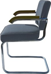 Knoll Cesca Upholstered Arm Chair