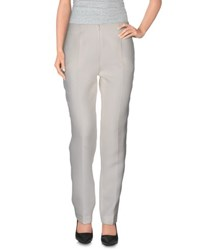 Francesco Scognamiglio Trousers Casual Trousers Women Ivory