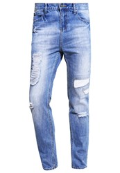 Your Turn Jeans Tapered Fit Vintage Blue Blue Denim