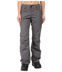 686 Authentic Standard Pant Steel Women's Outerwear Silver