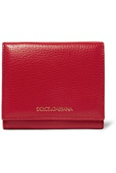 Dolce And Gabbana Textured Leather Wallet