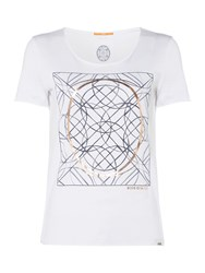Hugo Boss Tishirt Short Sleeve Logo Tee White