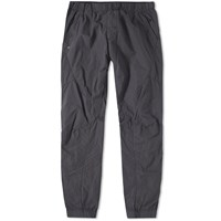 Stone Island House Check Nylon Pant Green