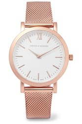 Larsson And Jennings Liten Rose Gold Plated Watch