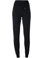 Mcq By Alexander Mcqueen Glyph Logo Track Pants Black
