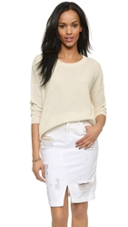 Madewell French Drape Sweater Pale Sea