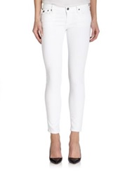 True Religion Casey Low Rise Skinny Jeans Winter White