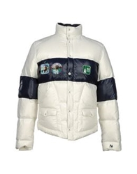 The Royal Pine Club Down Jackets White