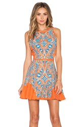 Kas Missa Dress Orange