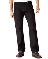 Levi's Big And Tall 550 Relaxed Fit Black Jeans