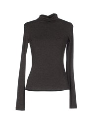 Plein Sud Jeanius Knitwear Turtlenecks Women Dark Brown